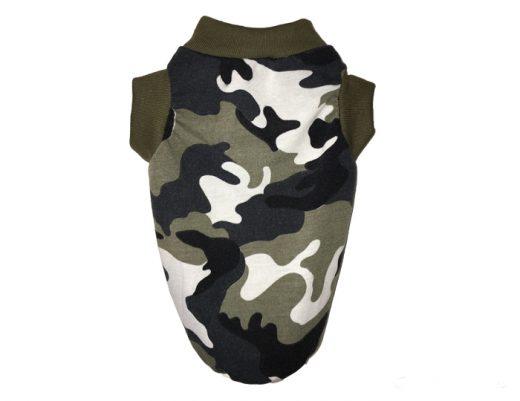 Polera Musculosa militar perro